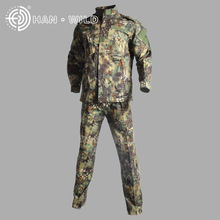 US military ACU army uniform cotton polyester men set Tactical suit Combat uniforms