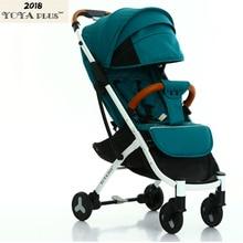 YOYA PLUS 2018 yoya baby  детская коляска  Будь на плоскости  Бесплатная доставка