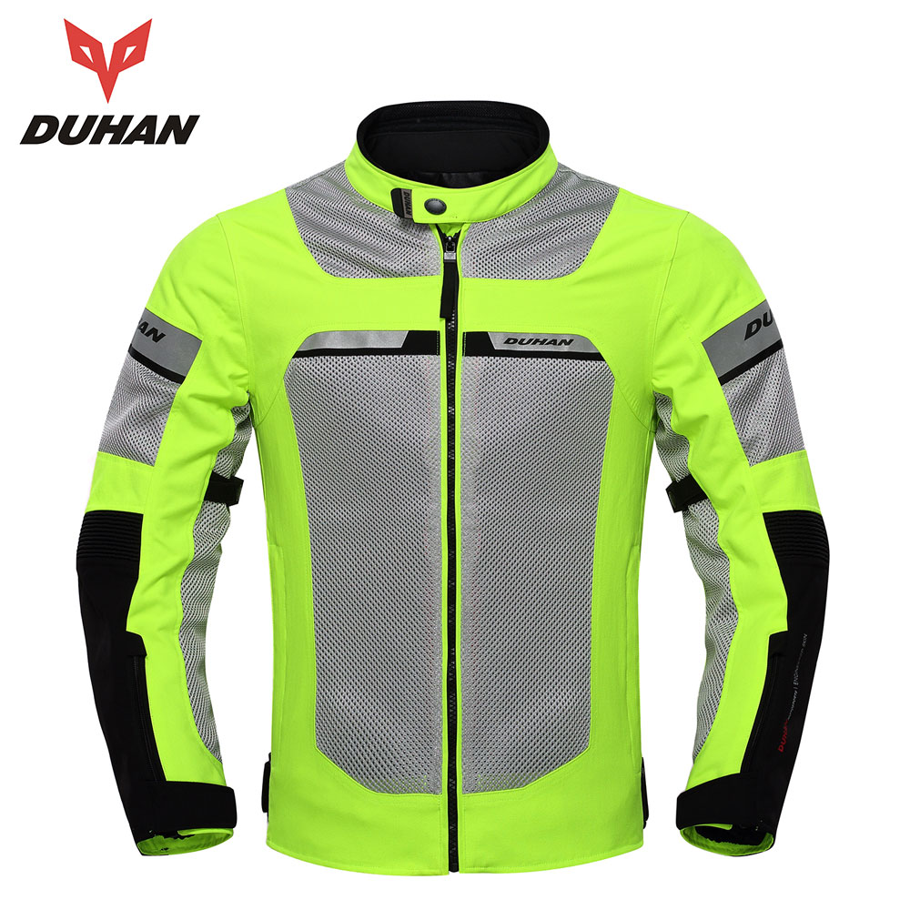 DUHAN Motorcycle Jackets Men Summer Moto Jackets Breathable Male Racing Jacket Motocross Clothing Motorcycle Jackets Black 2017motorcycle men s racing motocross jackets