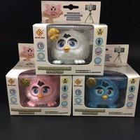 New Phoebe Electronic Pets Firbi Russian Speaking Talking Furbi Elves Plush Recording Interactive Smart Boom Toys