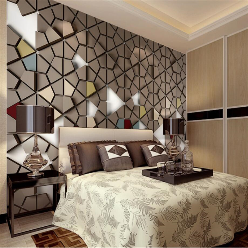 Beibehang Custom 3D Wall Paper Murals Living Room Bedroom -4875