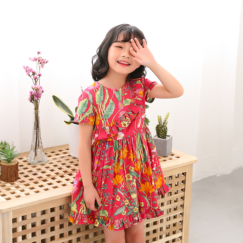 Adult and childrens flower dress  kids High quality party dresses big girls Adult and childrens flower dress  kids High quality party dresses big girls