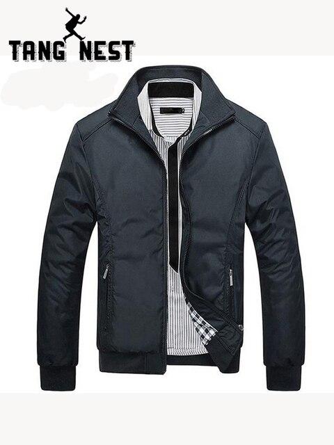 TANGNEST Men's Jackets Plus Size 5XL 2019 Men's New Casual Jacket High Quality Spring Regular Slim Jacket Coat Wholesale MWJ682