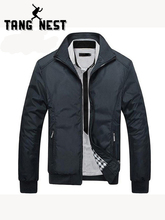 TANGNEST/для мужчин's куртки 2019 Мужчин Новая повседневная куртка Высокое качество Весна регулярные тонкий пальто для мужчин Оптовая Продажа MWJ682