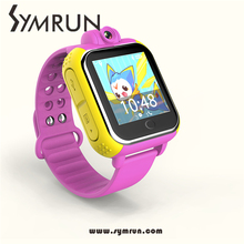 Symrun 1,5 Zoll Smartwatch Android 4.4 Mobile Armbanduhr Wifi Gps Uhr 2016 Kinder Smart Uhr Touch