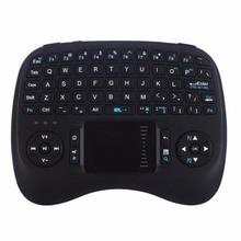 Беспроводная клавиатура Mini Air Mouse Game Ручная клавиатура Пульт дистанционного управления Сенсорная панель 2,4 ГГц для Android Smart TV Box Ноутбук