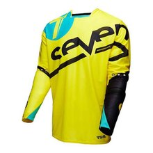 Wholesale MOTO New Style Seven Motocross Jersey MX Quick Dry Motorcycle Clothing MTB Offroad Racing Long Sleeve Moto Bike t shir