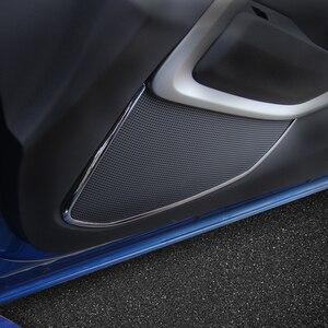 Image 5 - MOPAI ABS araba iç kapı hoparlör dekorasyon kapakları Trim çıkartmalar için Chevrolet Camaro 2017 araba aksesuarları Styling