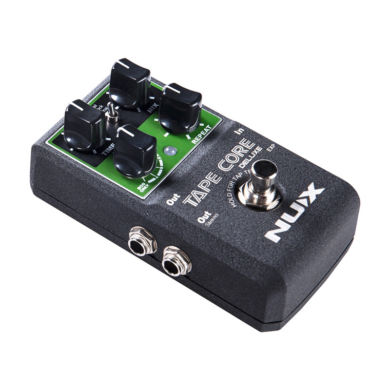 High Quality Tape Core Guitar Effect Pedal Tape Delay Effects Tone-Lock Function True-bypass USB Update Firmware aroma adl 1 true bypass delay electric guitar effect pedal high quality aluminum alloy guitar accessories delay range 50 400ms