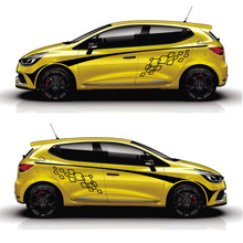 цена на TAIYAO car styling sport car sticker For Renault Clio car accessories and decals auto sticker