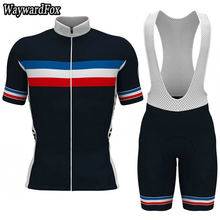 2018 NEW cycling jersey Men s France Racing TEAM Dark blue cycling clothing  Sportwear bike wear Gel 0626009d2