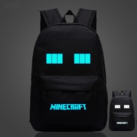 Minecraft Backpacks Children School Boys And Girls Back To School Bags Minecraft School Bag Canvas Bts