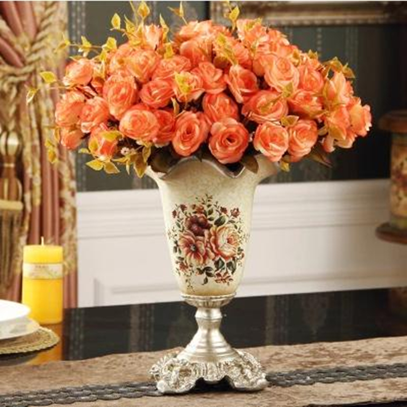 Flower vase home furnishing decorative crafts christmas for Decorative flowers for crafts