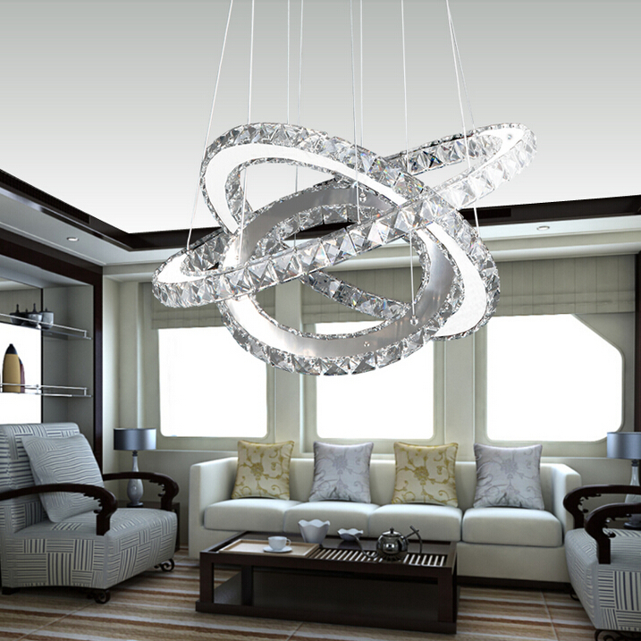 Hot sale Diamond Ring LED Crystal pendant Light 100% Guarantee +Free shipping 110-220V free shipping hot sale 100