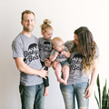 Family Matching Clothing Soft Cotton Shirt Matching Mother Daughter Clothes Family Look Style Father Mother Son T-shirt Tops
