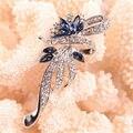 Venta caliente Broches Para Las Mujeres el Nuevo Encanto Retro Broches Cristalinos de La Manera Para Las Mujeres de Joyería de Moda 1 UNIDS