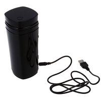 Top Vendita USB Ricaricabile Powered Caffè tazza Da Tè Tazza Warmer Automatico Agitazione (Nero)