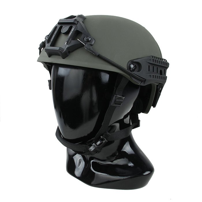 Casque tactique TMC COS Airsoft AF 18 versions avec monture Ranger vert RG (SKU051242)