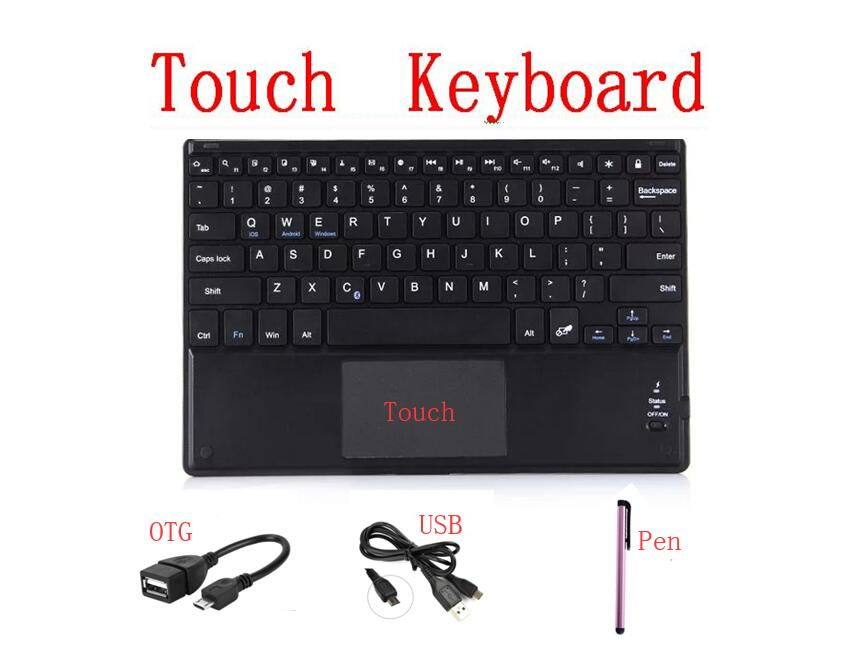 US $1 0 33% OFF Universal 25*15cm Support IOS Android System Phone Mini  Wireless Mouse Wireless Bluetooth Keyboard for Tablet Laptop Phone IPad-in
