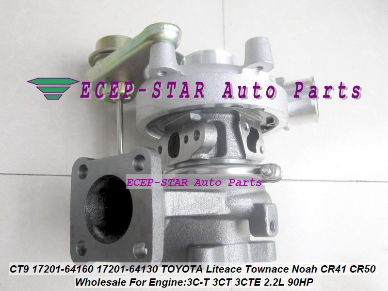 CT9 17201-64130 1720164130 17201 64130 Turbo Turbocharger For TOYOTA Liteace Town Noah CR41 CR42 CR50 CR52 3C-T 3CT 3CTE 2.2L