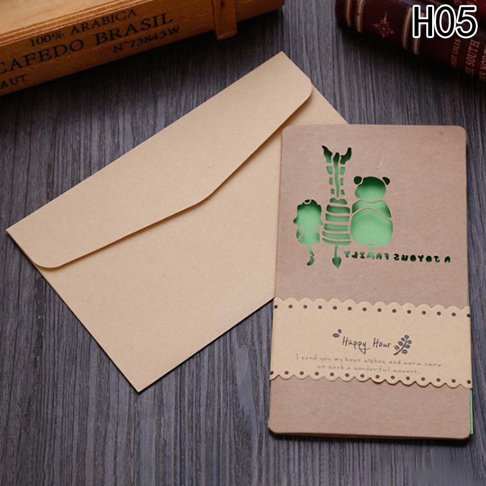 Креативные открытки конверты
