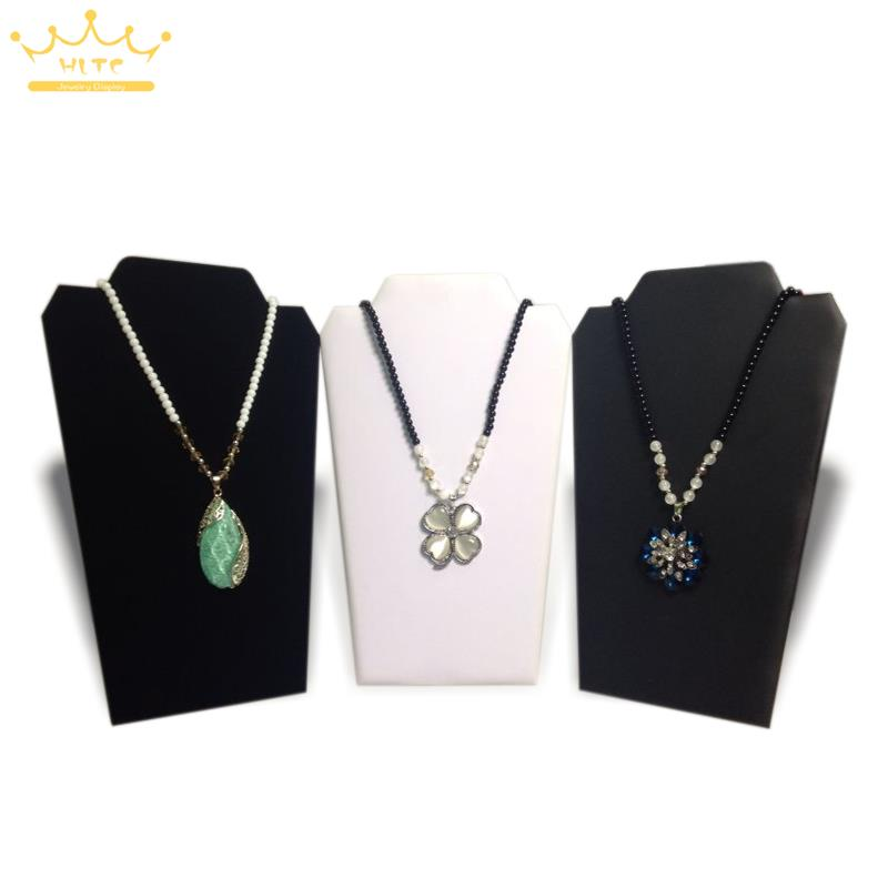 Free Shipping 5pcs Jewelry Showing Stand Necklace Display Rack 20*32cm Pendant Holder Easel Foldable Shelf