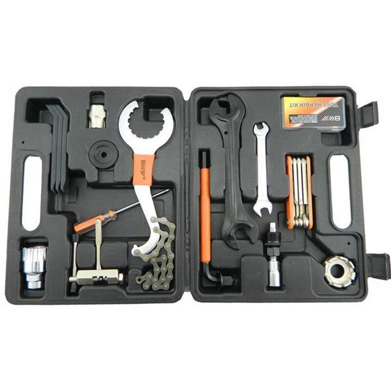 UpperX Mountain Bike Bicycle Repair Tools For The Maintenance Tool Kits Bike Multifunction Repair Tool Suits