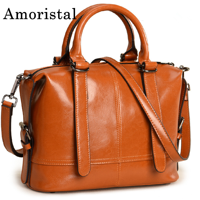 Ladies Shoulder Bag Luxury Handbags Fashion Genuine Leather Bag For Women Cowhide Leather Bucket Bags Foreign Trade Bags B321 fashion women handbag genuine leather shoulder bags women messenger bags cowhide leather handbags women crossbody bags md b321