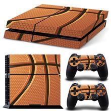 Basketball Style PS4 Skin Sticker Vinyl