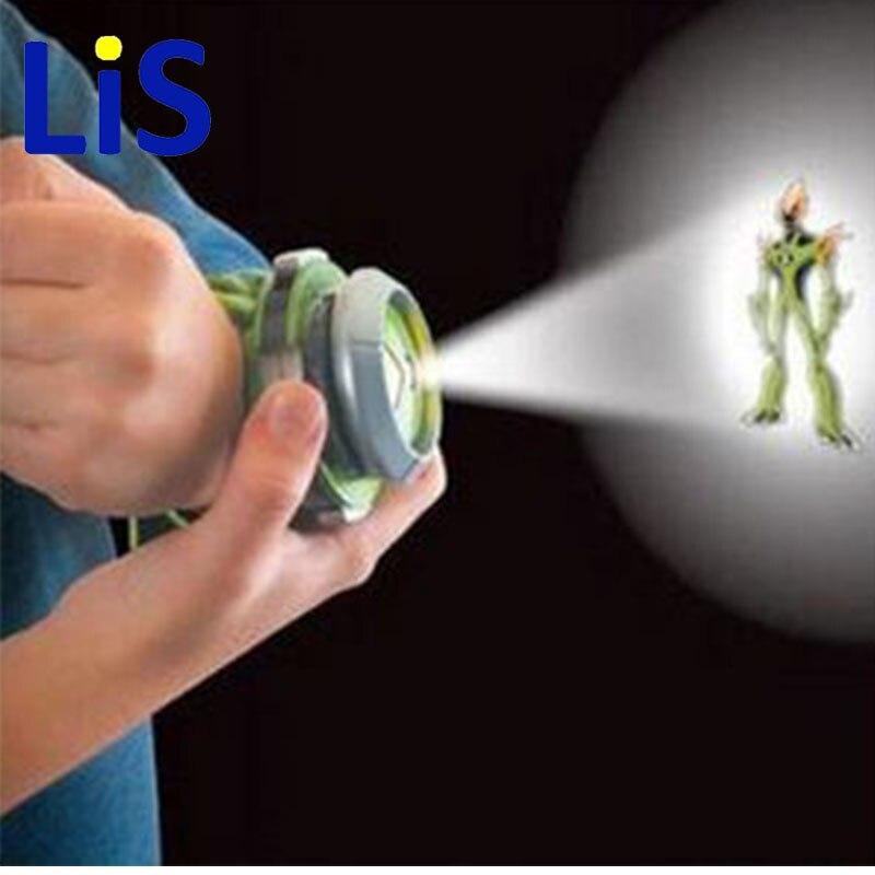 Lis 2015 Hot Selling Ben 10 Style Japan Projector Watch BAN DAI Genuine Toys for Kids Children Slide Show Watchband Drop ben 10 omnitrix watch style kids projector watch japan genuine ben 10 watch toy ben10 projector medium support drop