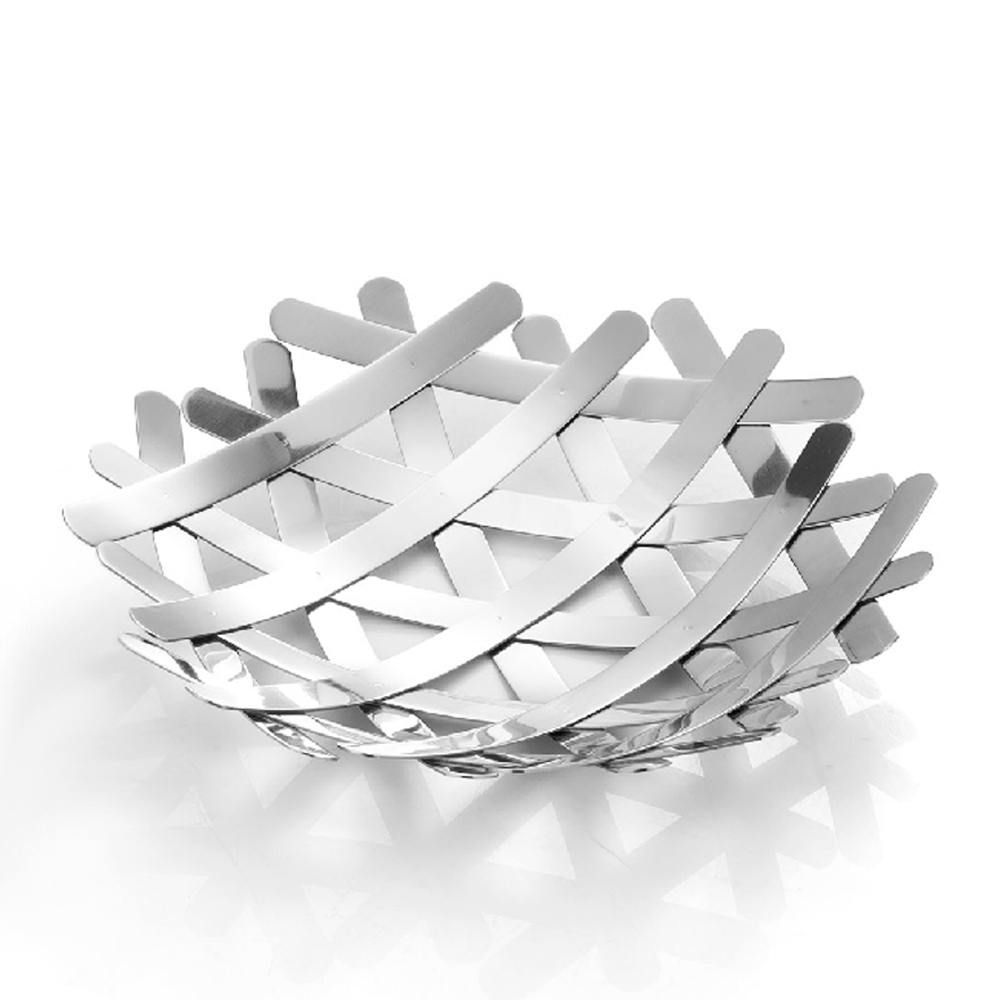 aliexpresscom  buy decorative large stainless steel fruit bowl  - aliexpresscom  buy decorative large stainless steel fruit bowl creativefashion candy dish fruits basket basin package mail free shipping fromreliable