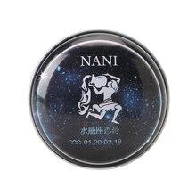 1 Pc Aquarius Constelação Perfumes Sólidos Mágicos Perfume Fragrância Desodorante