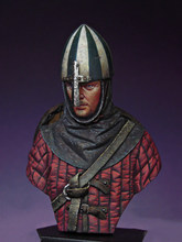 1/16 Resin Bust Building Kit Norman Soldier(China)