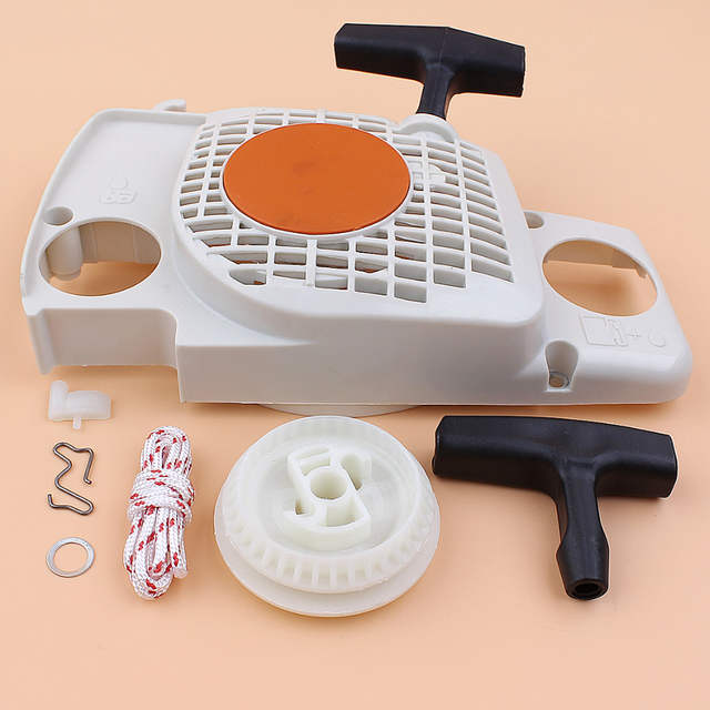 Recoil Starter Pulley Pawl Dog Repair Kit Fit Stihl MS170 MS180 MS180C 017  018 Gas Chainsaws Spare Parts 1130-080-2100