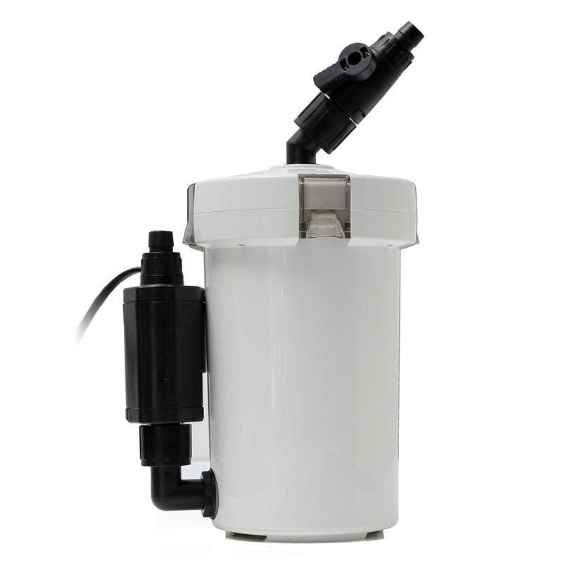 6 W 400l/h filtre d'aquarium externe cartouche réservoir de poissons Aquarium système de Filtration de boucle avec filtre Tube de coton Peump HW-603B