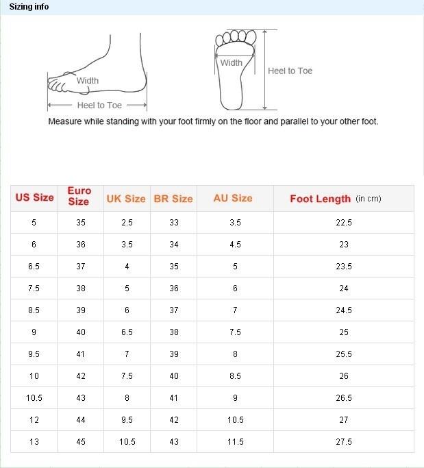 women size chart