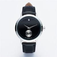 EUTOUR 2017 reloj de Los Hombres Relojes de Cuarzo Reloj de Moda de Lujo F Creativa Minimalista Simple reloj de pulsera de Cuero Reloj de Las Mujeres 20