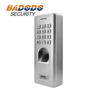 Image 4 - IP66 في الهواء الطلق WG26 بصمة كلمة السر لوحة المفاتيح التحكم في الوصول القارئ مع 12 فولت 5A امدادات الطاقة ل قفل الباب بوابة فتاحة استخدام