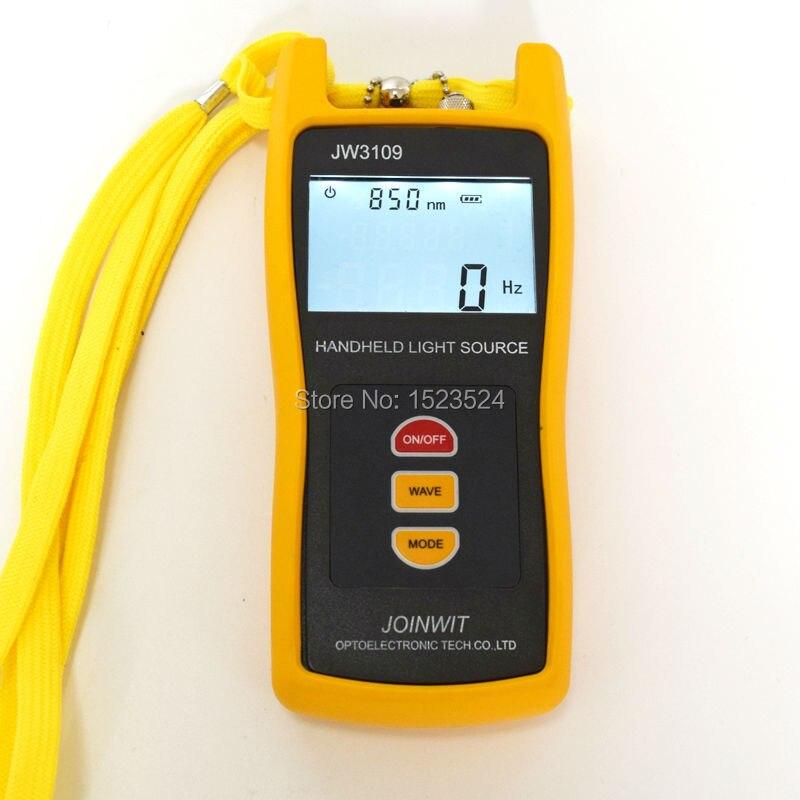 850 1300nm Multimode JW3109 Handheld Multimode Fiber Optical Light Source