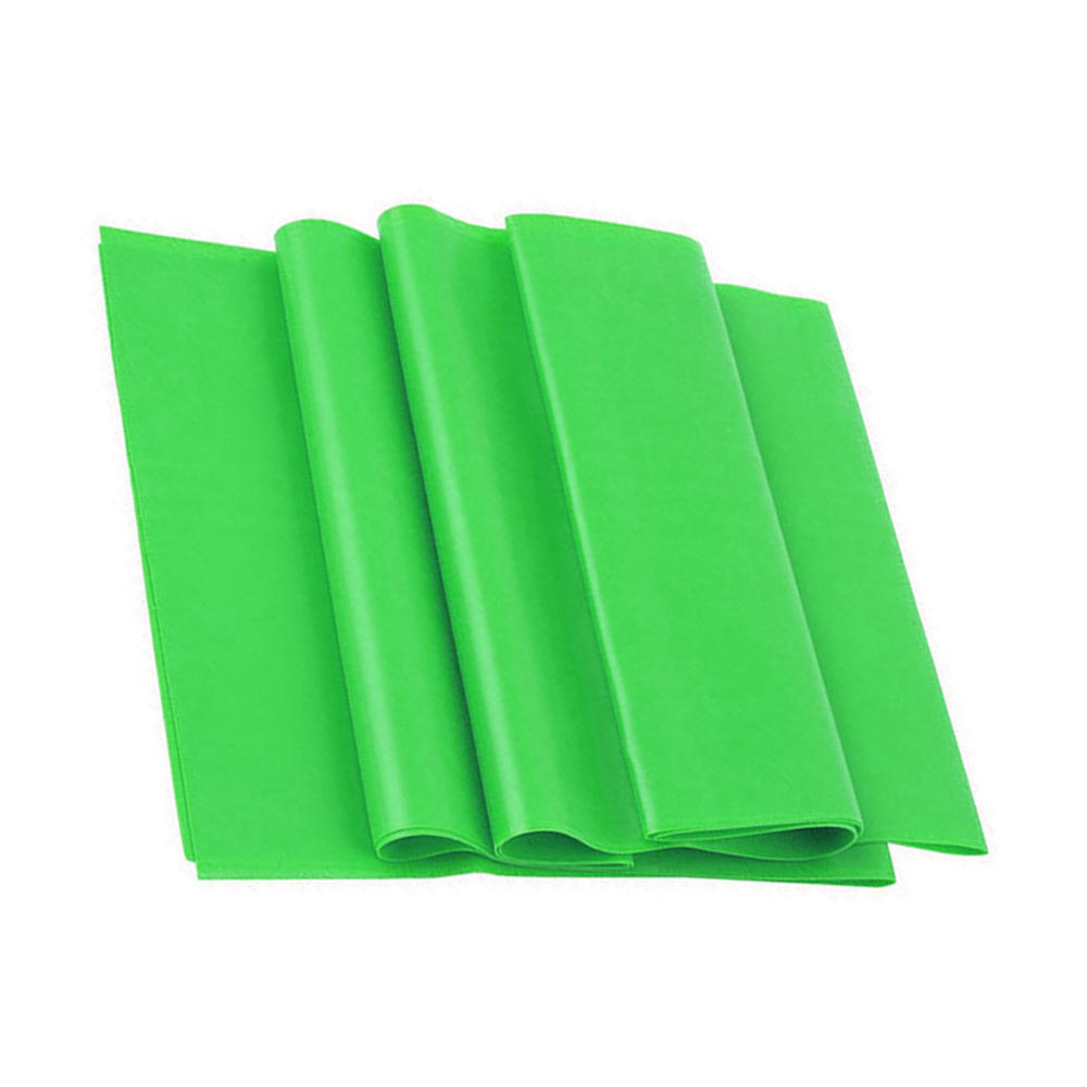 Green 1.5m Yoga Pilates Rubber Stretch Resistance Exercise Fitness