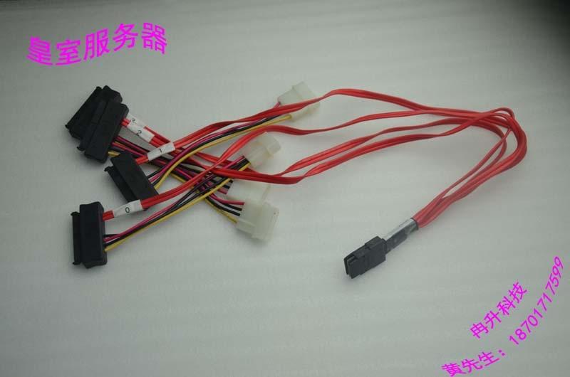 FOR Amphenol Mini SAS cable SFF-8087 4 SFF-8482 1 to 4 SAS/SATA interface