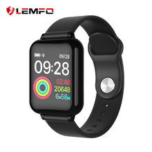 LEMFO 2019 1.3 Inch IPS Color Display Smart Watch Men IP67 Waterproof Heart Rate Monitor Smartwatch For Android IOS Phone(China)