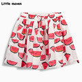 Little maven 2017 new summer baby girl clothes watermelon printing cotton mini A-line skirt S0212