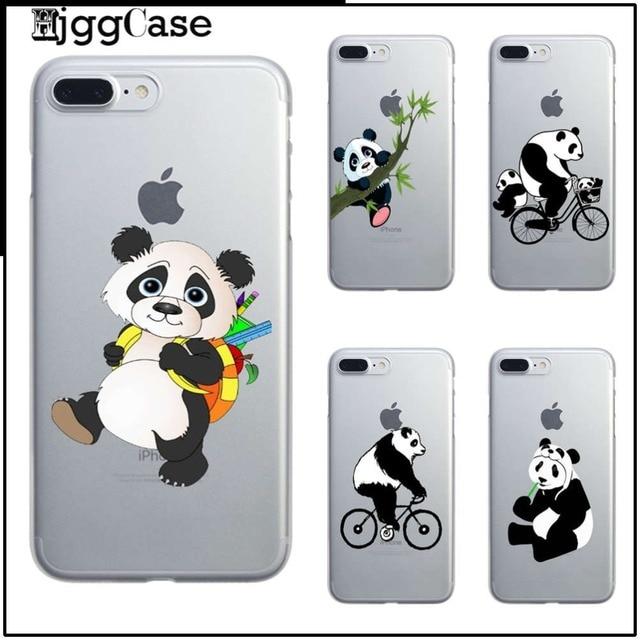 coque iphone 6 transparente panda