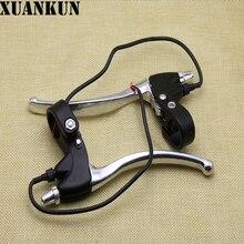 Xuankun Алюминий педаль электрический автомобиль Батарея Электрические велосипеды тормозной тормоза
