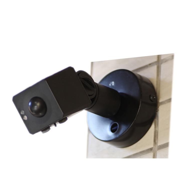 180 degrés 220 V extérieur étanche micro-ondes Radar détecteur de mouvement détecteur de lumière murale interrupteur sécurité à domicile sécurité 12 M