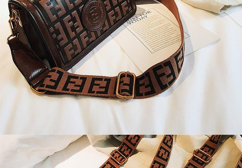 2019 Sac Femme Luxury Handbags Women Bags Designer Leather Crossbody Bag For Women Shoulder Bag Ladies Messenger Bags Letter (20)