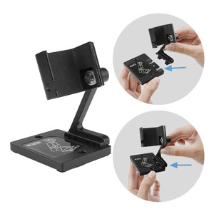 Image 4 - Estabilizador de base de escritorio, soporte de aluminio, ángulo ajustable para dji osmo Pocket 2, accesorios de cámara de cardán
