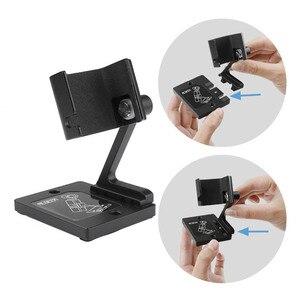 Image 4 - Masaüstü tabanı sabitleyici alüminyum tutucu ayarlanabilir açı dji osmo cep 2 gimbal kamera aksesuarları