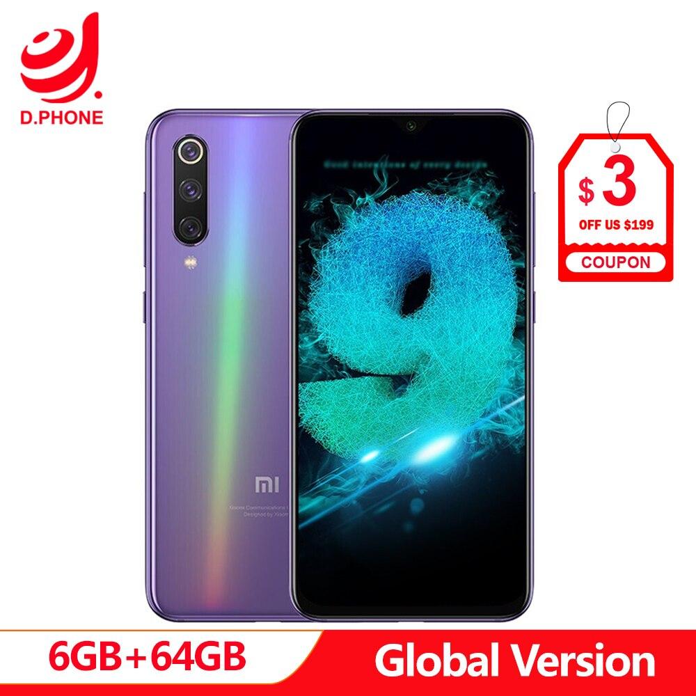 Versão Global Xiao mi mi 9 SE 6 GB GB ROM mi 9 64 SE Snapdragon 712 Núcleo octa 5.97